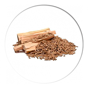 poêle mixte à bois et à granulés Rika