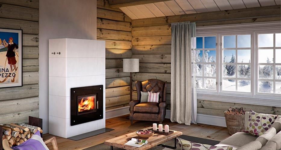 Poêles à accumulation de chaleur, modèle : Salzburg-XL