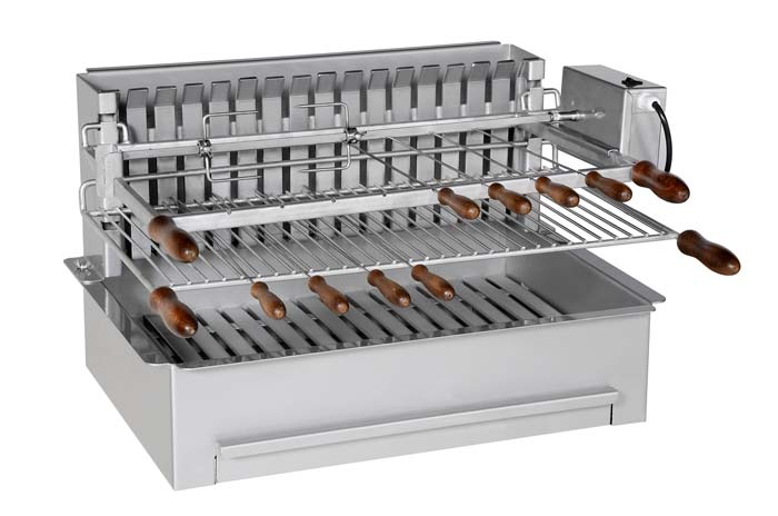 Barbecue Inox - Collet Industrie - modèle 600 INTÉGRAL